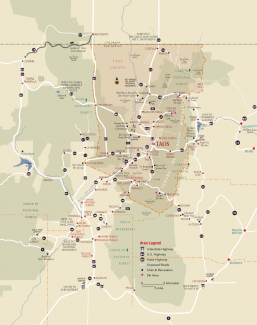 Taos County Map